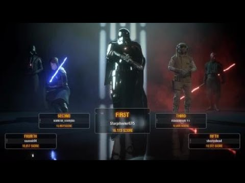 Captain Phasma MVP!! Epic Staff Strike Use! | Star Wars Battlefront 2