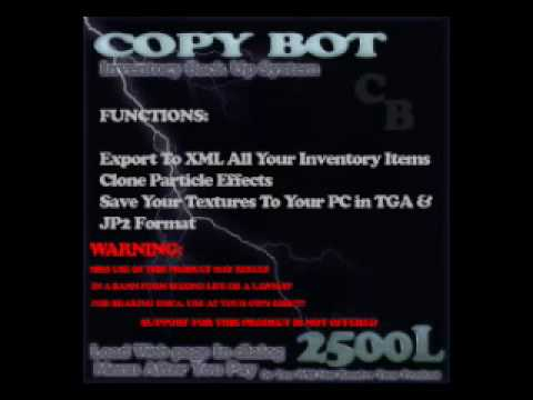 Secondlife Copybot download