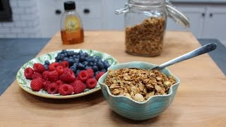 Homemade Honey And Coconut Granola