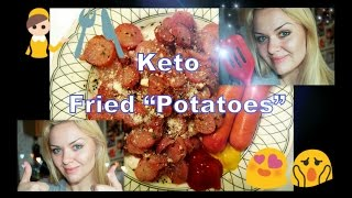 "KETO Fried ""Potatoes"" aka Radishes"