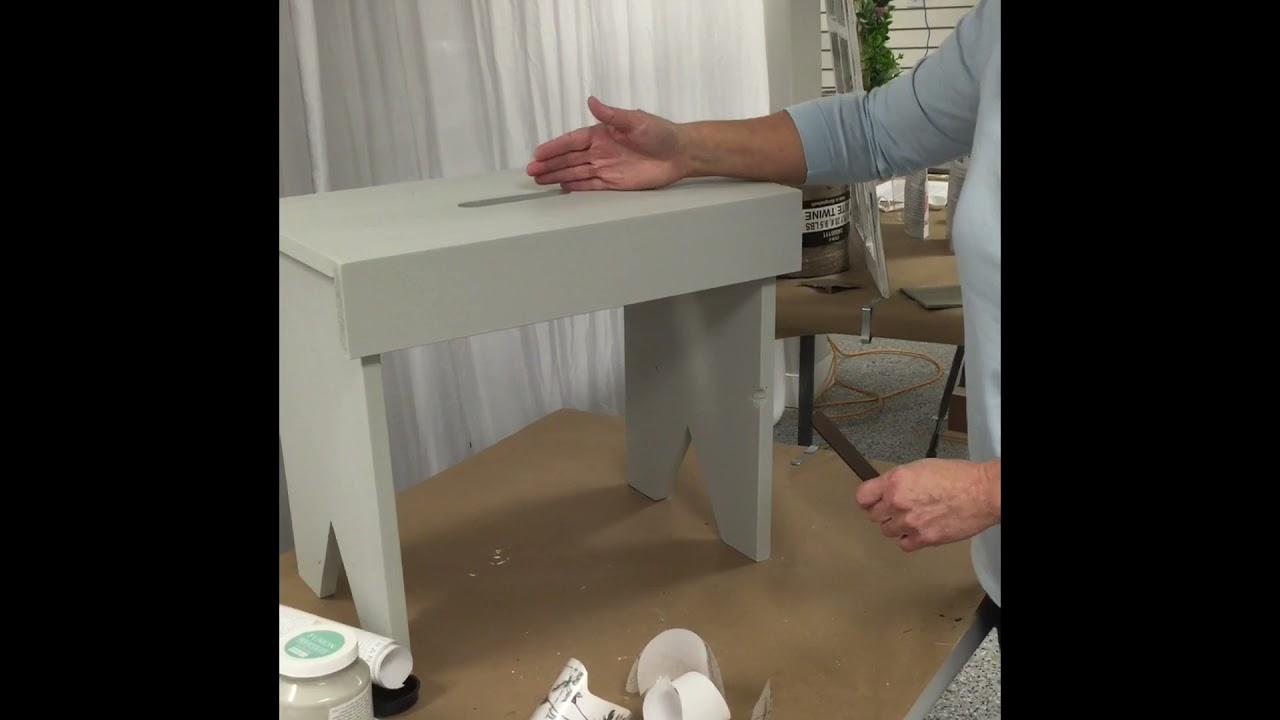 Decorative Bench Workshop