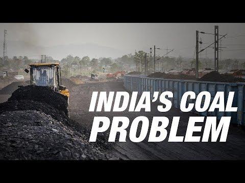 Coal Stockpiles Clog Up Indian Ports