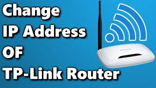 how to change the ip address of tp link router