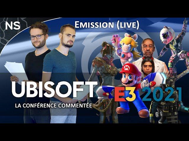E3 2021 : Ubisoft Forward, La conférence commentée (Live)