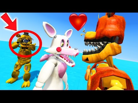 MANGLE & JACK-O-BONNIE CAUGHT ON CAMERA! ARE THEY DATING? (GTA 5 Mods For Kids FNAF Funny Moments) letöltés