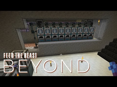 FTB Beyond w/ xB - AUTOMATIC ORE PROCESSING [E30] (Modded Minecraft)