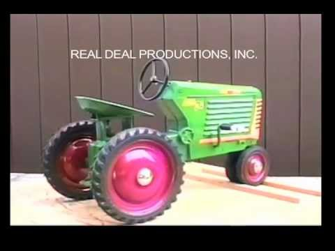 Oliver 88 Open Grill Pedal Tractor - Eska - YouTube