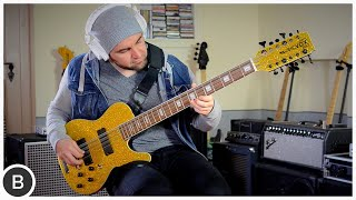 MUSICVOX SPACE CADET 12-STRING BASS | BassTheWorld.com