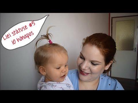 Lizi státusz #5 - 10 hónapos 👧🏼❤️🔟  *  ÖRÖKKÉKÉKAZÉG  *