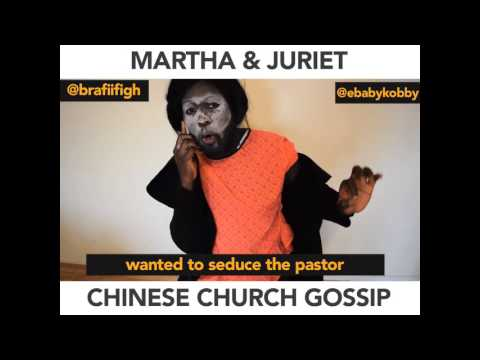Chinese church Gossip Be Like (African Comedy)
