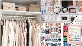 Kamer opruimen The Home Edit Stijl & Closet Tour 🌈✨ | Julia Verbij