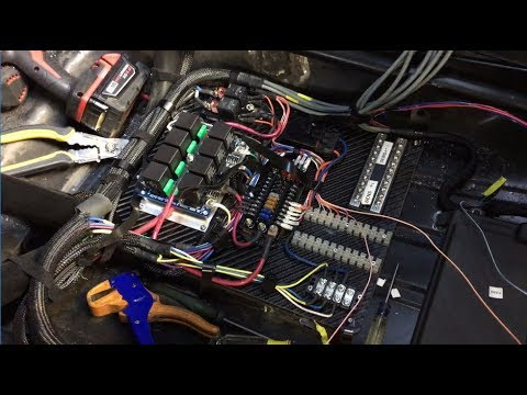 whackshack wire job mark preps 69 camaro race car for drag week rh youtube com race car wiring relay race car wiring how to