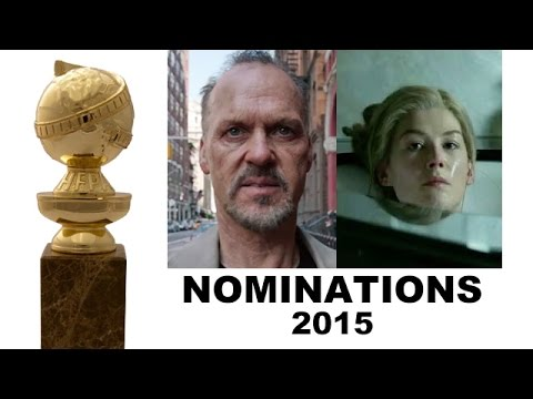 Golden Globes 2015 Nominations - Gone Girl, Boyhood, Birdman, Selma, Into the Woods