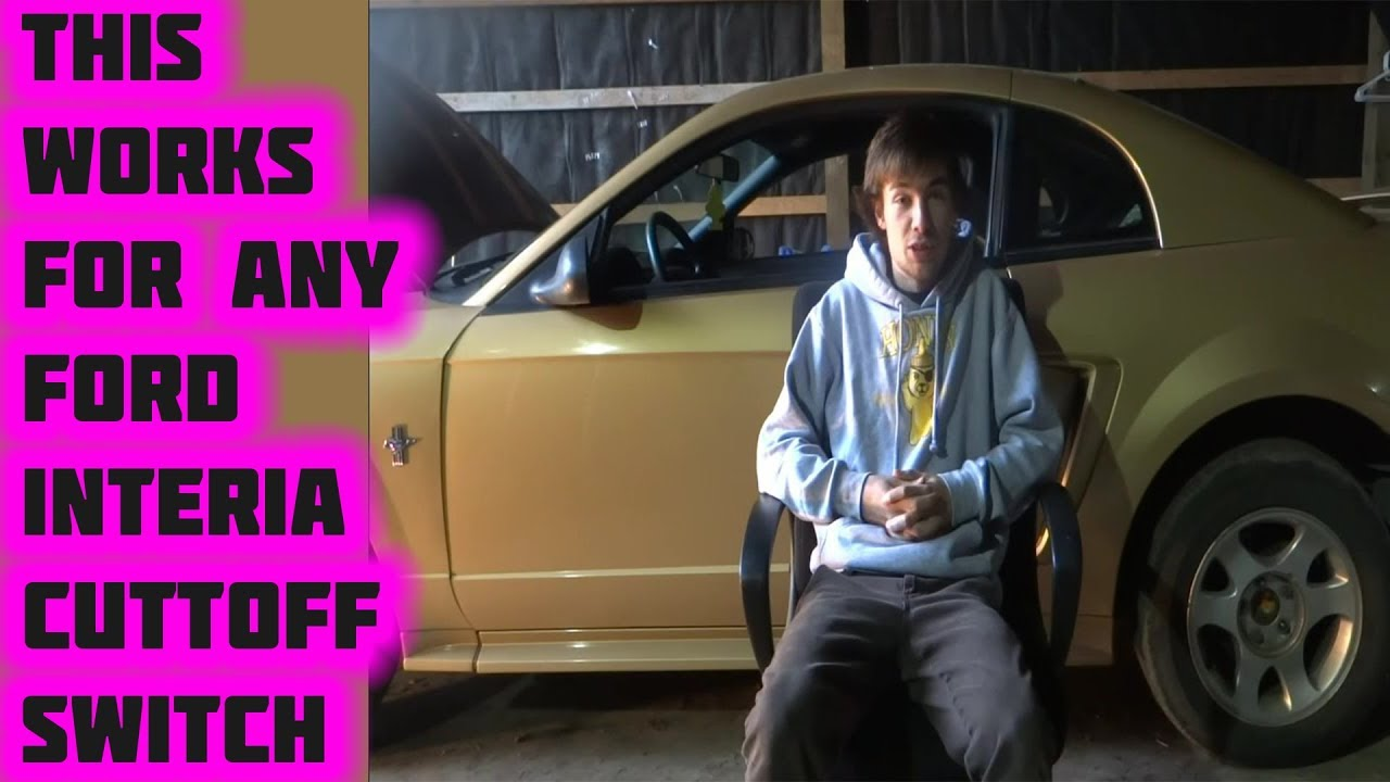 Does The Mustang Start Inertia Cutoff Bypassed Youtube 2000 Gt Fuel Filter