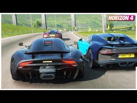 Forza Horizon 4 – Koenigsegg Regera | Goliath Gameplay