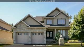 152 West Ridge Dr, Ottawa K2S 2H3, Ontario - Virtual Tour