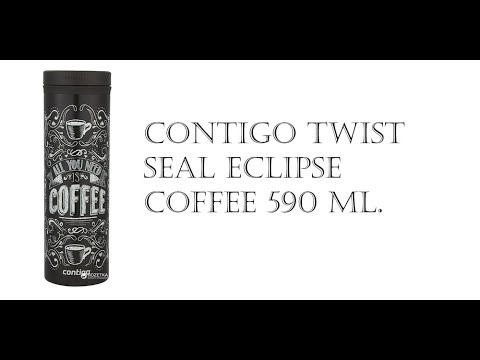 Обзор Термокруки Contigo Twist Seal Eclipse Coffee 590 мл з Rozetka