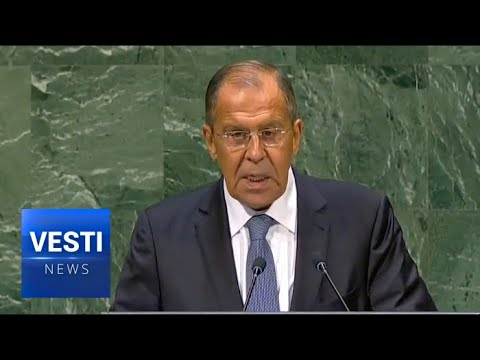 Lavrov Cracks Un-PC Jokes About Hacking, Catalonia and South African Farmers at UN HQ