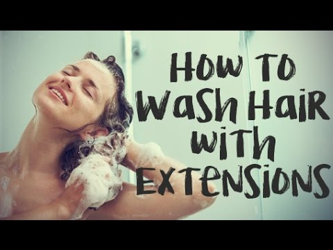 How to Wash Fusion, Weft, Tape, & Micro Ring Hair Extensions | Instant Beauty ♡