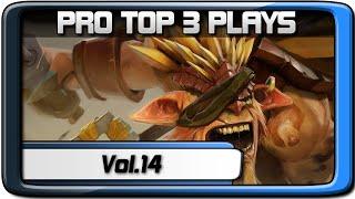 PRO TOP 3 PLAYS #14 | AdmiralBulldog - Suma1L - Xcalibur | Dota 2