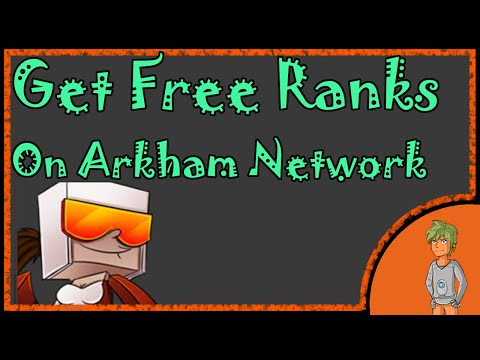How to get Free Ranks on Arkhamnetwork! {Expired}