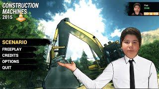 Kağan İle Construction Machines Simulator 2016 Bölüm 5 Zor Görev Ve Kazı Çalışması