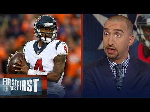 Nick Wright lists all the reasons why he's not sold on the Houston Texans   NFL   FIRST THINGS FIRST