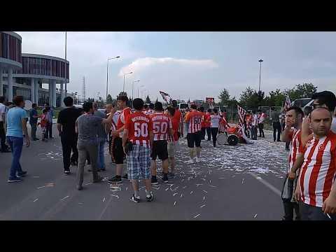 Nevşehir Spor - Ödemiş Spor Maçı Kutlamalari