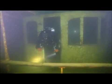 """Le France"" Shipwreck CCR dive"