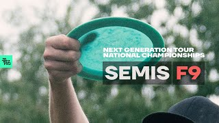 DISC GOLF NATIONAL CHAMPIONSHIPS | 2019 Next Generation Tour | SEMIS FRONT 9
