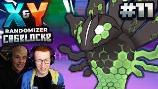 THE CURSE! - Pokémon X and Y Randomizer Cagelocke w/FeintAttacks PART 11!