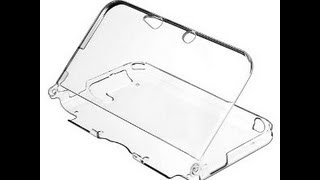 Nintendo 3DS XL Clear Case - Application / Demonstration / Thoughts
