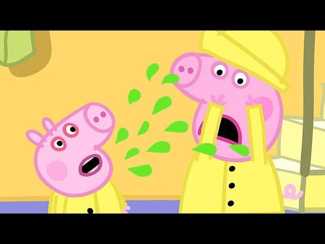 Peppa Wutz   George hat sich erkältet   Peppa Pig Deutsch Neue Folgen   Cartoons für Kinder