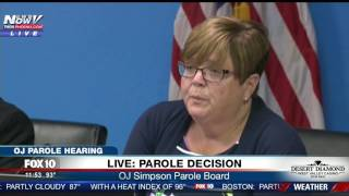 FULL: Parole Board Speaks After Deliberation On O.J. Simpson Hearing