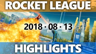 Rocket League Highlights 2018 08 13