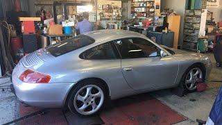 Porsche 911 with 243,000 miles DYNO RUN 996