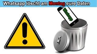 ACHTUNG: Whatsapp löscht eure Daten am 12.November 2018 - Darum sichert eure Backup Daten