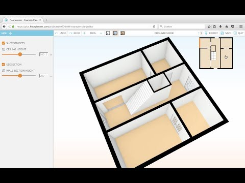 Floorplanner Lesson 3: Doors and Stairs