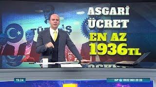 Asgari ücret 2.000 TL yolunda - Atv Haber 6 Aralık 2018 Video