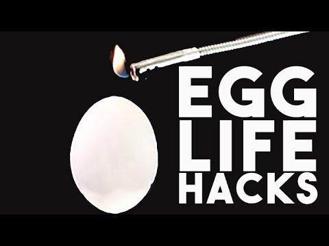10 AMAZING EGGS LIFE HACKS AND EDIBLE TRICKS