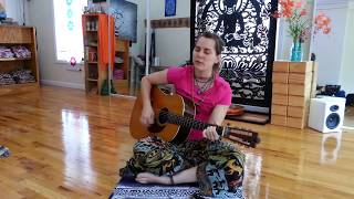 Devotional song. The Maha Mantra or Hare Krishna.Union through soun...