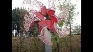 1030304捷運信義線大安森林公園站公共藝術作品---可開合的大安之花