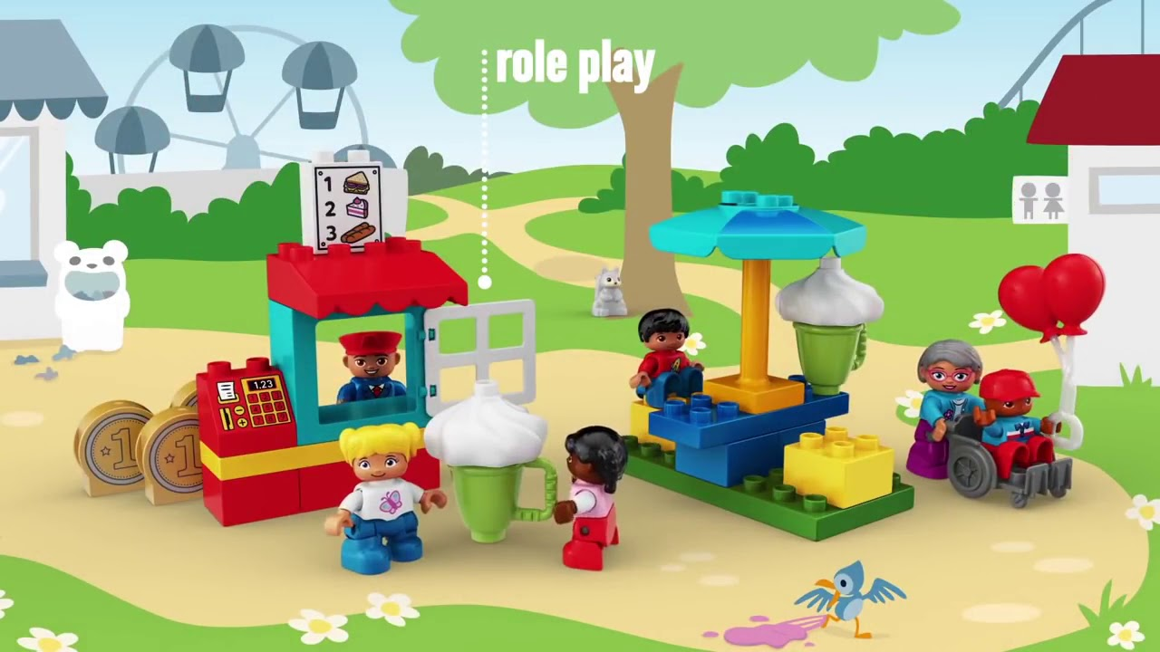 STEAM PARK LEGO EDUCATION - YouTube