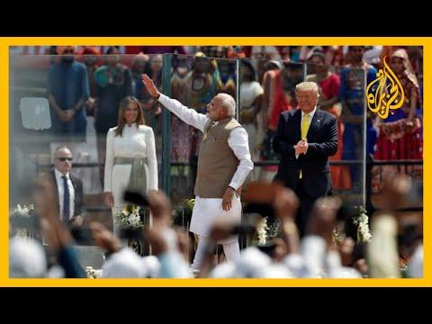 ???? ???? غضب في الهند.. جدار يعزل موكب ترامب عن رؤية الفقراء