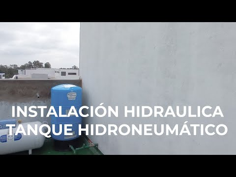 INSTALACIÓN HIDRAULICA | TANQUE HIDRONEUMÁTICO | CASA NATURA thumbnail