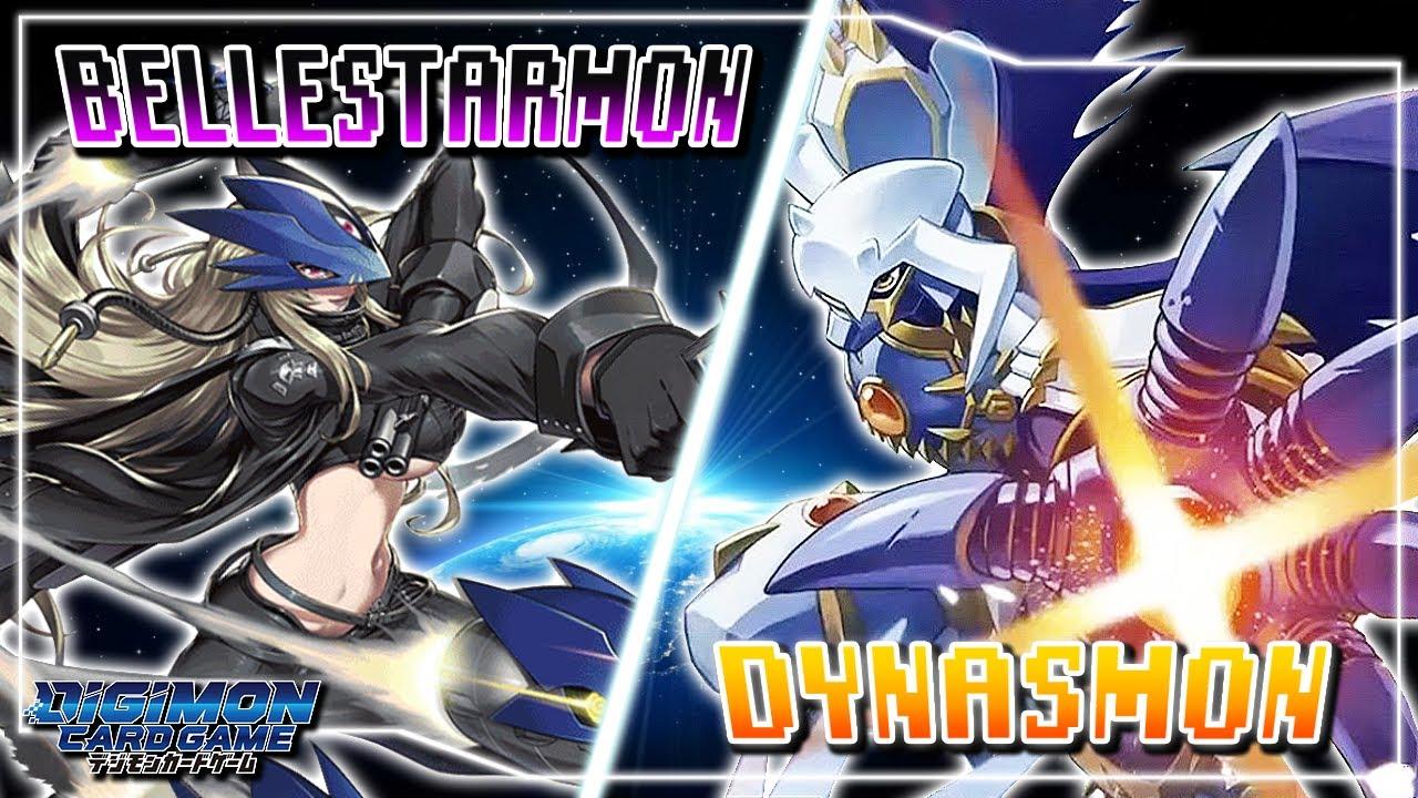 Digimon Card Game : BelleStarmon (Purple) VS Dynasmon (Yellow)