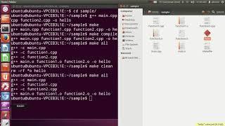 How to Make a Makefile (C++ / C)  (Makefile Tutorial)