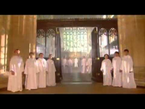 Coro de niños cantos celestiales