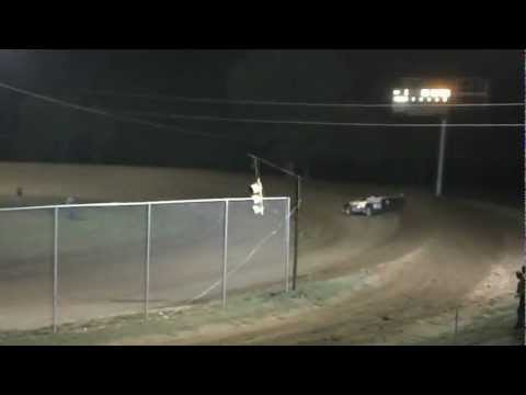 Rick Eckert Qualifying at North Alabama Speedway 2012 WoO Race