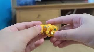 공룡메카드 메머드 장난감 리뷰